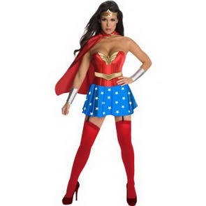 Click Here for Entire Collection of Wonder Woman Halloween Costumes Now!